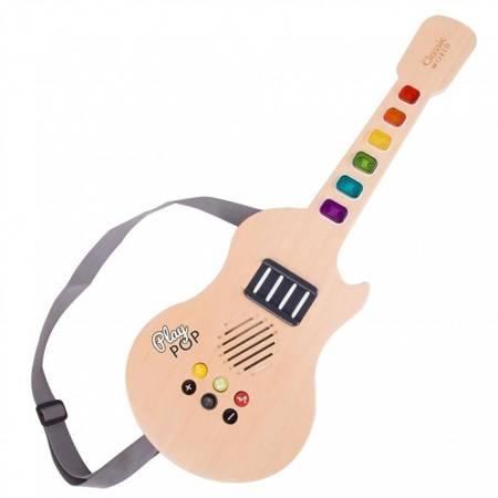 Drewniana Gitara  Elektryczna  Classic World