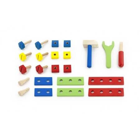 Drewniana Skrzynka z Narzędziami Viga Toys