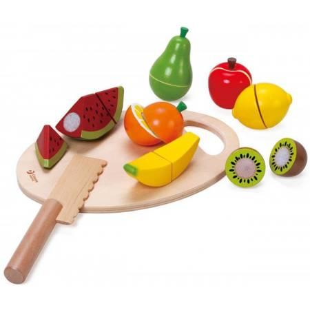 Drewniany Zestaw Owoce Do Krojenia  Classic World
