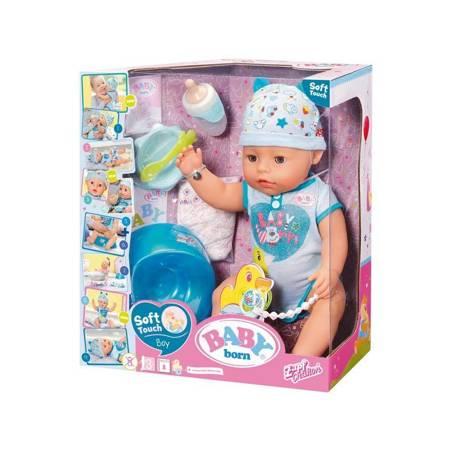 Interaktywna lalka Soft Touch 43 cm Baby Born