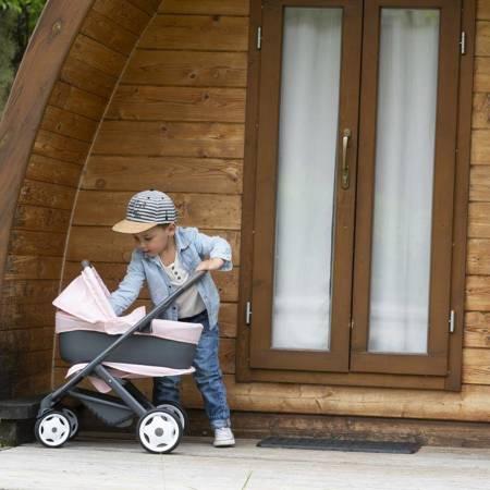 Wózek dla Lalek Maxi Cosy Quinny 3w1 Głęboki Gondola Spacerówka SMOBY