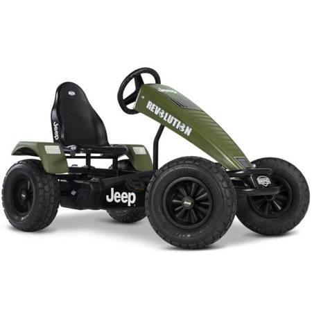 BERG Terenowy Gokart na pedały Jeep Revolution BFR-3 Biegi Pompowane koła od 5 lat do 100 kg
