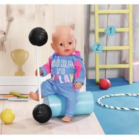 Baby Born Ubranko Dres do Joggingu dla Lalki 43 cm Niebieskie
