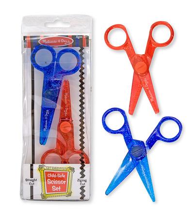 Bezpieczne Nożyczki dla dzieci 2 szt Melissa and Doug 14224