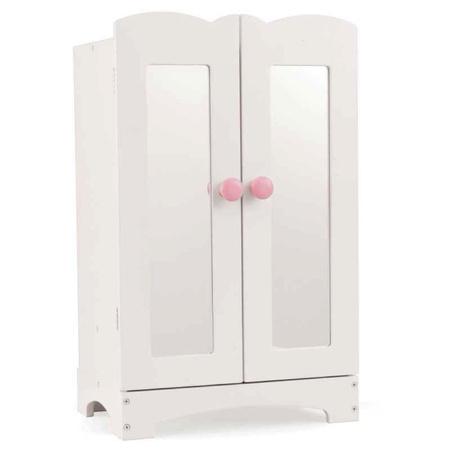 Biała Szafa na ubrania dla lalek Lil Doll Kidkraft 60132