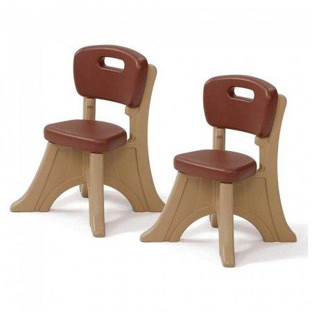 Brązowe Krzesełko z oparciem 896700 Step2