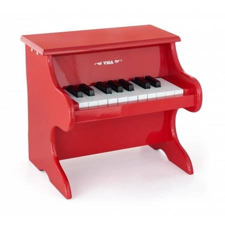 Czerwone Mini Pianinko  Viga Toys