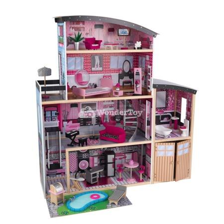 Domek dla lalek KidKraft Iskierka Sparkle Mansion 65826