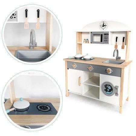 Drewniana Kuchnia Oslo + Akcesoria