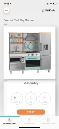 Drewniana Kuchnia dla dzieci Kidkraft Gourmet Chef Play 53421