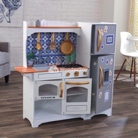 Drewniana Kuchnia dla dzieci Kidkraft  Mosaica z magnetycznym frontem