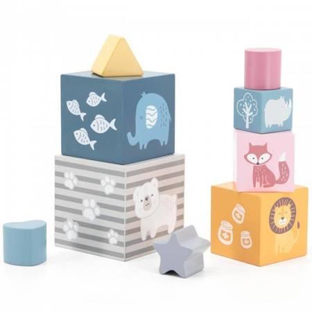 Drewniana Piramida Sorter Viga Toys