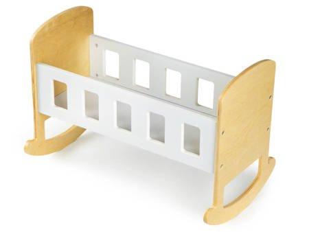 Drewniana kołyska dla lalek Classico