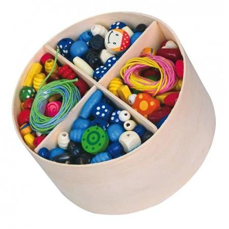 Drewniane Koraliki do nawlekania  Viga  Toys
