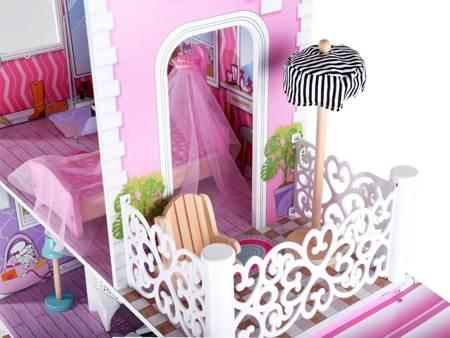 Drewniany Domek dla lalek Santa Barbara