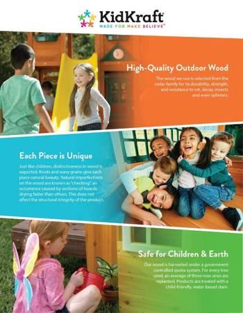 Drewniany Plac Zabaw Ainsley Kidkraft 00400