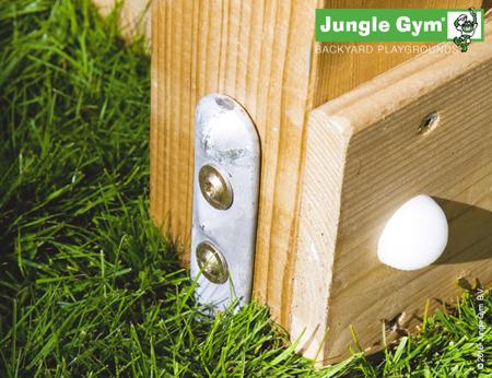 Drewniany Plac zabaw - Zestaw Jungle Gym Gutek