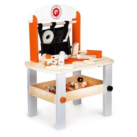 Drewniany Warsztat Stolarza + Narzędzia