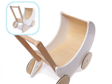 Drewniany Wózek dla lalek  Betty