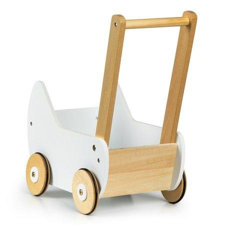 Drewniany wózek dla lalek Classico