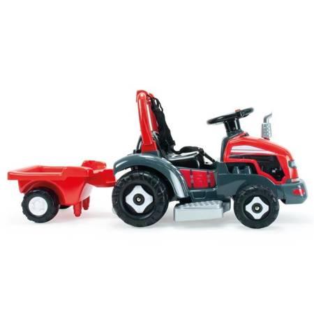 INJUSA Traktor Elektryczny z Przyczepą 2w1 6V