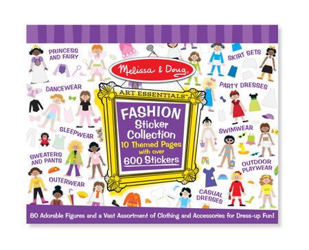 Klasyczne Naklejki Dla Dziewczynek Moda Melissa dla Doug 14190