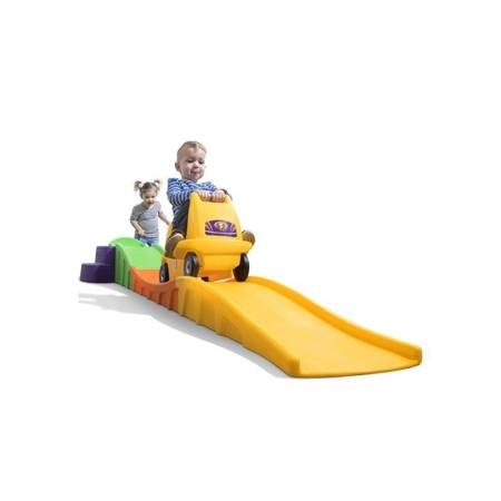 Kolejka Górska Roller Coaster ślizg i zjeżdżalnia 7114 Step2