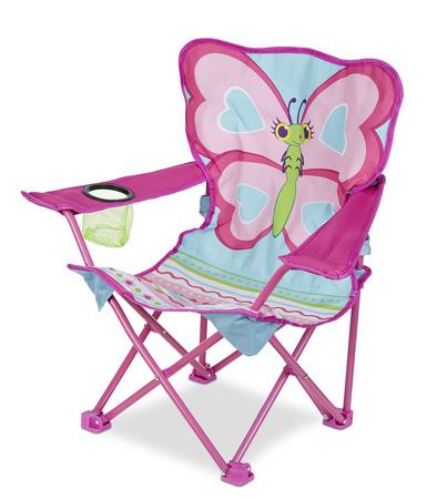 Krzesełko Leżak Różowy Motyl 16693 Melissa and Doug