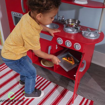 Kuchnia dla dzieci KidKraft Red Vintage 53173