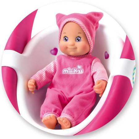 Lalka Minikiss Buziaczek Różowa przytulanka Smoby