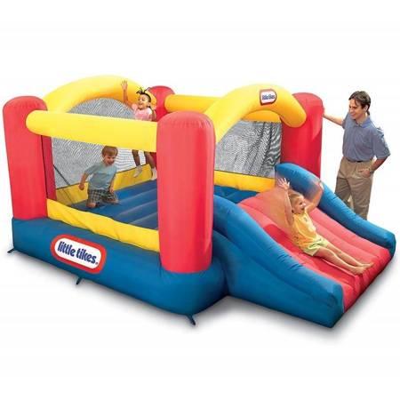 Little Tikes Dmuchany Plac zabaw ze zjeżdżalnią Jump'n Slide