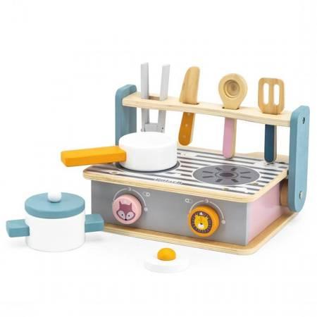 Mini Drewniana Składana Kuchenka z Grillem Viga Toys