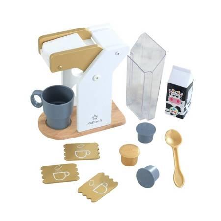 Nowoczesny Ekspres do kawy z akcesoriami Kidkraft  53538