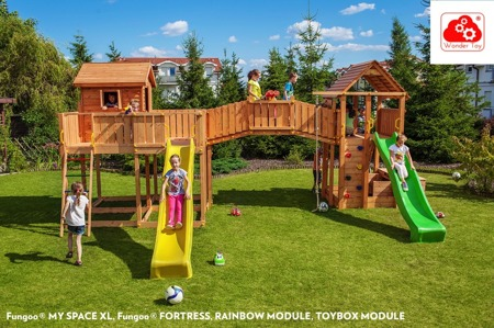 Plac Zabaw Maxi Joyful Castle™ FunGoo ®