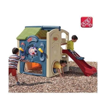 Plac Zabaw i Domek ogrodowy z Barem Step 2 Neighborhood Fun Center