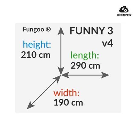 Plac zabaw Funny 3 Ramp™  FunGoo ®