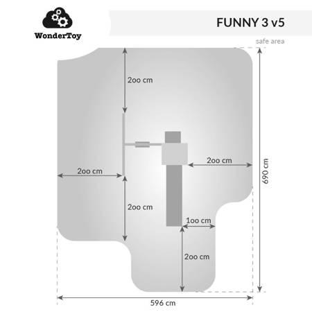 Plac zabaw Funny 3 Swing™  FunGoo ®