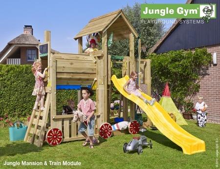Plac zabaw Jungle Gym Lokomotywa Choo-Choo