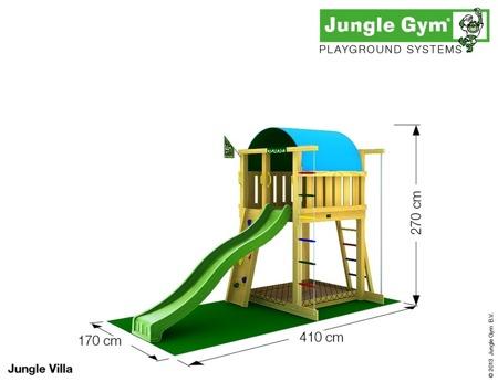 Plac zabaw Zestaw Jungle Gym - Supermarket