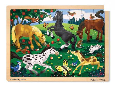 Puzzle Konie 48 el  Melissa and Doug 13801