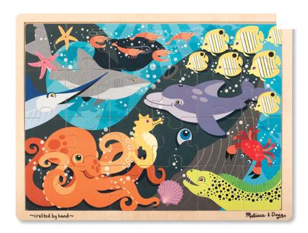 Puzzle Ocean 24 el  Melissa and Doug 19072