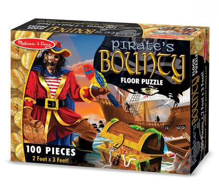 Puzzle Podłogowe Piraci  Melissa and Doug 14402 DSC