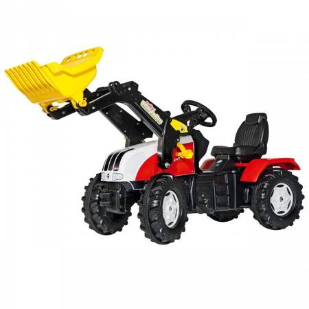 Rolly Toys rollyFarmTrac Traktor na Pedały Steyr Łyżka 3-8 Lat
