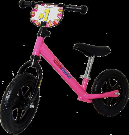 Rowerek biegowy Junior Neon Pink