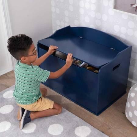 Skrzynia na zabawki Austin - Blueberry - KidKraft 14959