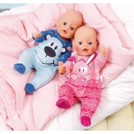 Śpioszki Dla Lalki Baby Born 43 cm W Kolorze Niebieskim