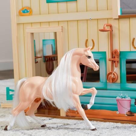 Stajnia dla koni z padokiem, koniem i akcesoriami - Kidkraft Sweet Meadow 63534