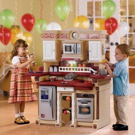 Stylowa Kuchnia Party Time Step2 767800 Światło Dźwięk i akcesoria