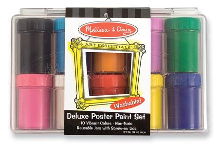 Zestaw 10 Kolorowe Farby Plakatowe  Melissa and Doug 14123