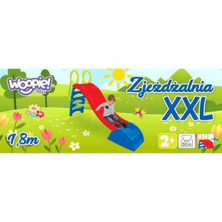 Zjeżdżalnia XXL 180 cm z Natryskiem Wodnym Ślizg Wodny WOOPIE